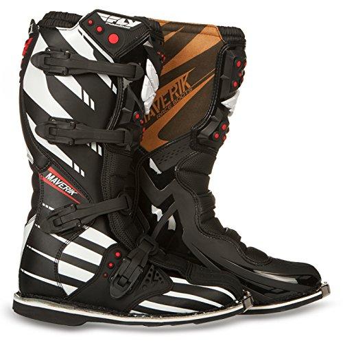 Preisvergleich Produktbild Fly Racing Motocross-Stiefel Maverik Schwarz Gr. 45