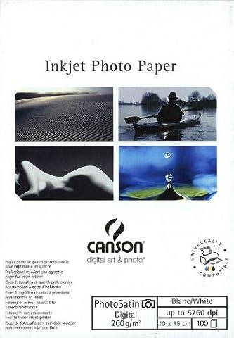 Canson InFinity Digital Photosatin Papier Photo Mat 100 Feuilles 260