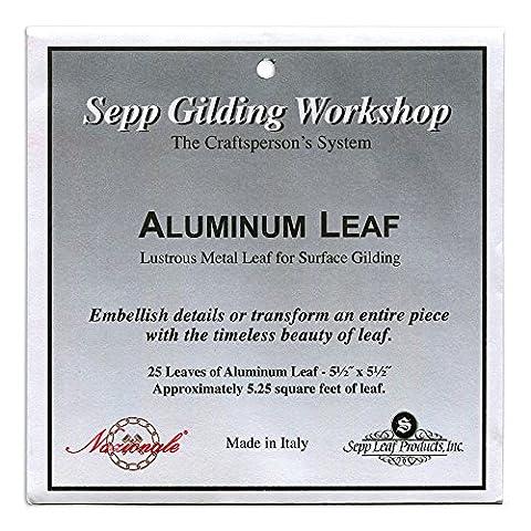 Sepp Aluminum Leaf Book Of 25