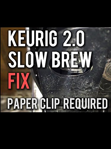How to Fix a Keurig 2.0 that is Slow or Not Brewing [OV]