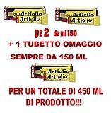 DOPPIO TUBETTO DI COLLA ARTIGLIO super 620 DA ML 150