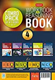 Class 4: Work Book and Reasoning Book Combo for NSO-IMO-IEO-NCO(Old Edition)