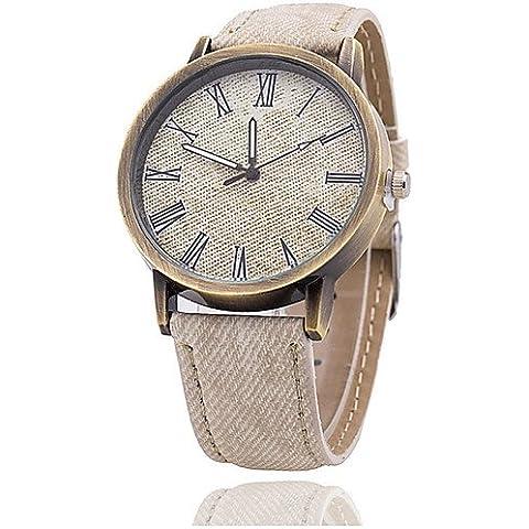 XIN&ZA Hombre Reloj de Pulsera Cuarzo Reloj Casual Piel Banda Negro / Azul / Verde / Amarillo / Rose Marca- , light