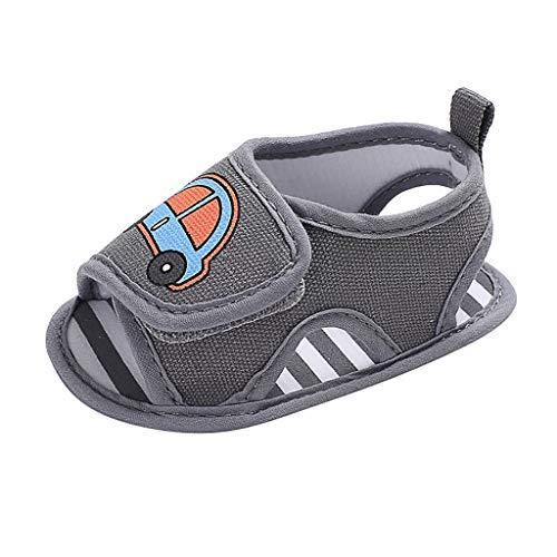 BURFLY Baby männlich Baby Cartoon Auto Kleinkind Schuhe Strand Schuhe Sandalen Casual ()