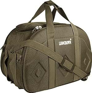 Lioncrown Polyester 52 cms Travel Duffel Bag | Cabin Bag (Beige)