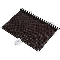 tonos de sol de coche - TOOGOO(R)2 pieza negra cortina de sol retractil de enrollar de ventana de coche de UV / defensa (40 * 60cm)