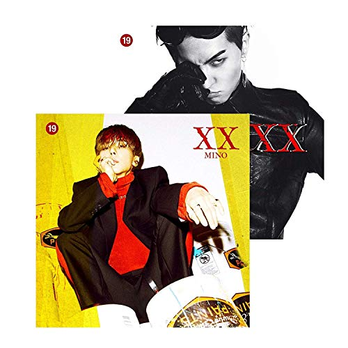 Preisvergleich Produktbild YG Song MIN HO MINO - XX [Random ver.] (1st Solo Album) CD+Photobook+Art Book+Stickers+Extra Photocards Set