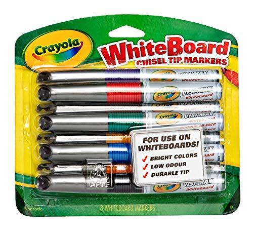 Crayola Dry Erase Markers (8 Count), Visimax BL