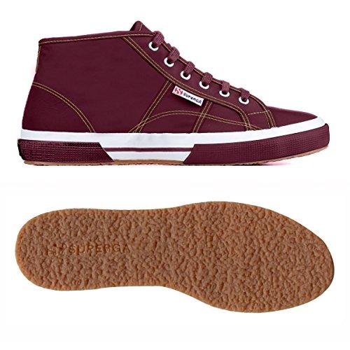 Superga 2754-Plusnylu, Sneaker, Unisex - Adulto BORDEAUX