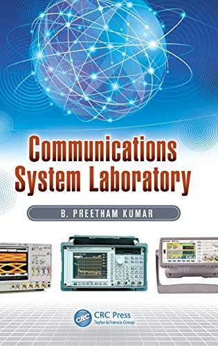 Communications System Laboratory por B. Preetham Kumar