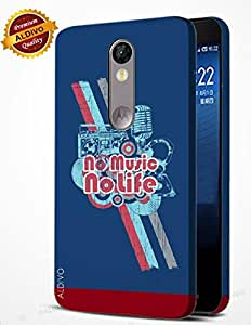 alDivo Premium Quality Printed Mobile Back Cover For MOTO X FORCE / MOTO X FORCE Case Cover (ST032)