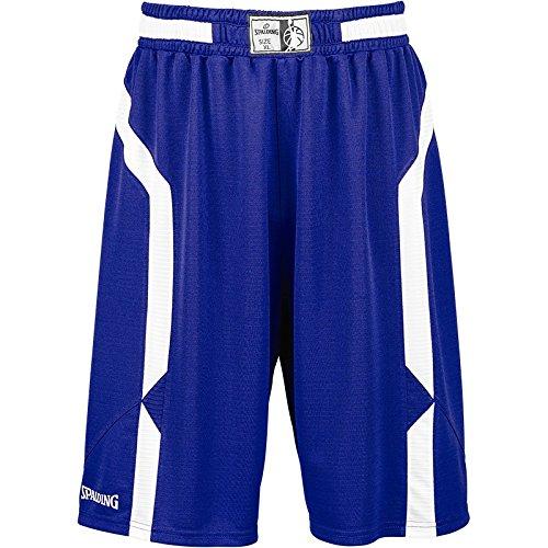 Spalding Offense Pantalones Cortos, Hombre, Azul (Blue/White), S