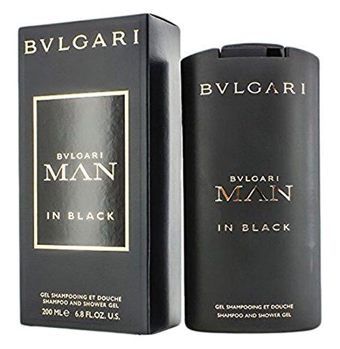 Bulgari - Man In Black - Gel de ducha para hombres - 200 ml