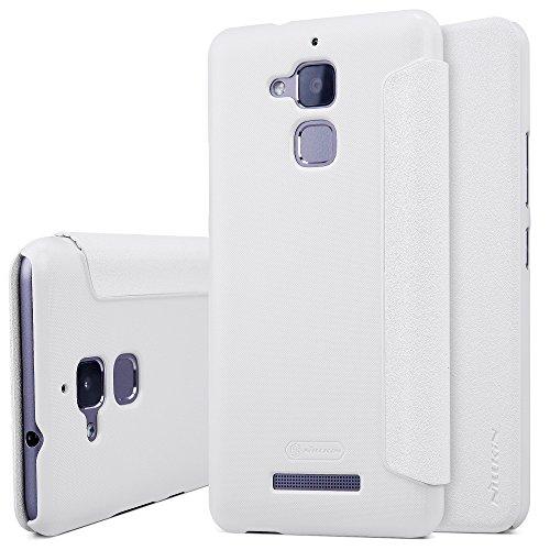"""Asus Zenfone 3 Max ZC520TL 5.2"""" Cover - SMTR® Filp Slim Cover Custodia per Asus Zenfone 3 Max Smartphone - bianco"""