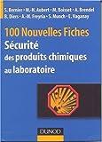 Nouvelles fiches pratiques de sécurité des produits chimiques au laboratoire