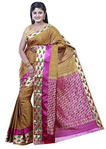 Kanchipuram silk sarees Emboss design Jari border Rich pallu By PSSB