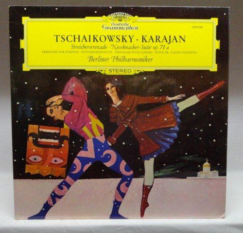 Tschaikowsky: Streicherserenade C-dur op. 48 & Nussknacker-Suite op. 71a [Vinyl LP] [Schallplatte]