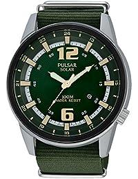 Pulsar Herren-Armbanduhr Analog Quarz Nylon PX3079X1