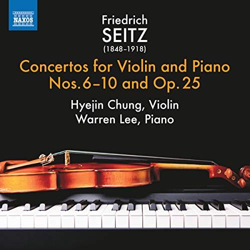 Seitz, F: Conciertos para violín y piano nos  6-10 y Op  25
