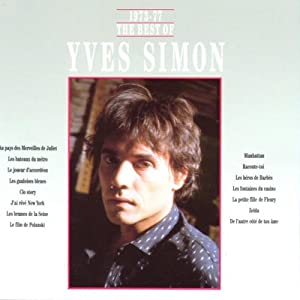 """Afficher """"The Best of Yves Simon"""""""
