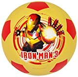 Mesuca Marvel No.3 Rubber Soccer - Iron Man, Multi Color