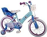 16 Zoll Kinderfahrrad Eiskönigin Fahrrad Dreirad Disney Frozen Anna & Elsa 51661
