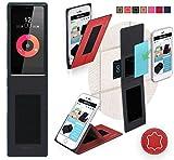 Obi Worldphone SF1 Hülle in Rot Leder - innovative 4 in 1