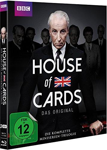 House of Cards - Die komplette Miniserien-Trilogie [Blu-ray, 3 Discs]