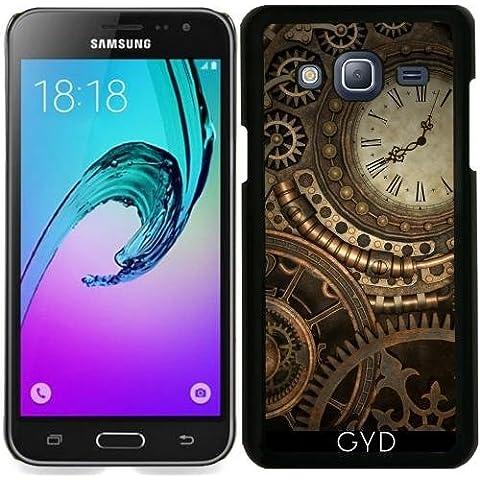 Funda para Samsung Galaxy J3 2016 (SM-J320) - Reloj Del Steampunk by Britta Glodde