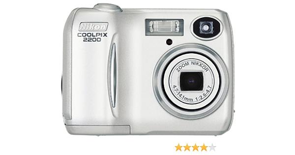 Nikon Coolpix 2200 Digitalkamera 2 0 Megapixel