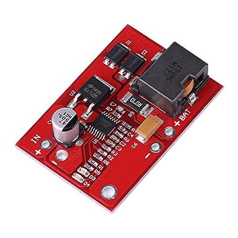 12V MPPT Module Carte de Protection de Chargeur Batterie Lithium 3Séries 18650 Contrôleur de Panneau Solaire