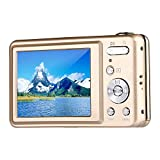 Webat V600 2.7 Zoll TFT Digitalkamera 15MP 1280 X 720 HD Video und 5 X optische Zoom Lithium Batterie Anti-Shake Lächeln Capture Digitalkamera - Gold