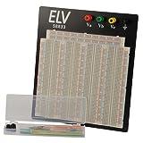 ELV Steckplatine 108 J, 3220 Kontakte, mit Drahtbrücken-Set