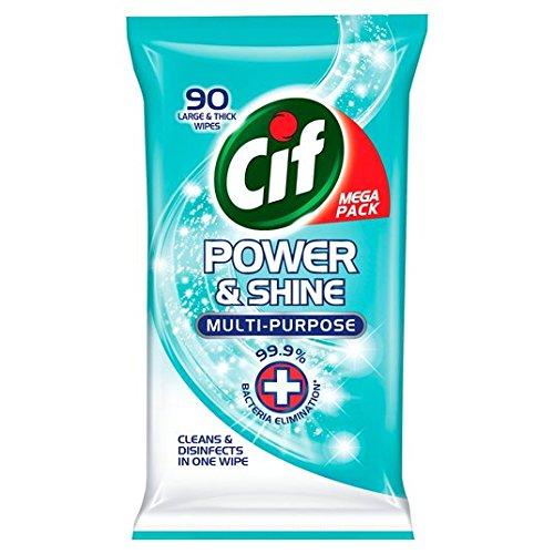 cif-potencia-y-shine-antibac-toallitas-90-por-paquete