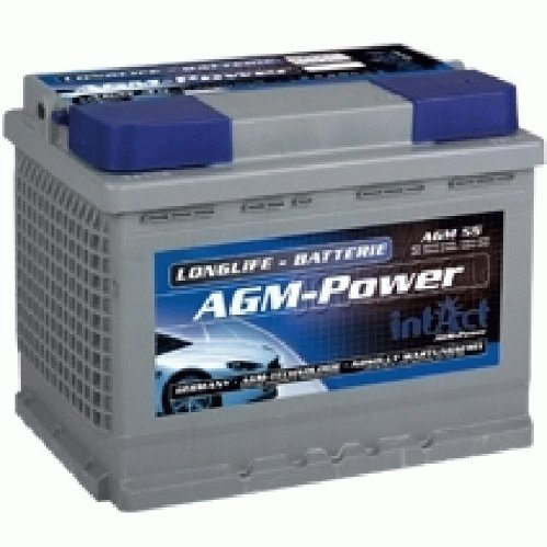 Preisvergleich Produktbild intAct Batterie AGM55 70 Ah 12V 55Ah Versorgungsbatterie