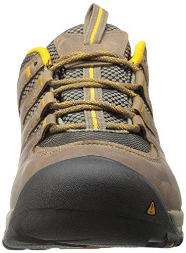 KEEN Gypsum II WP chaussures hiking Shitake/Golden Yellow