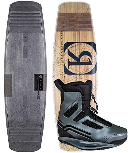 RONIX KINETIK Project SPRINGBOX 2 138 2019 inkl. ONE Boots Space Craft Grey, 38-39