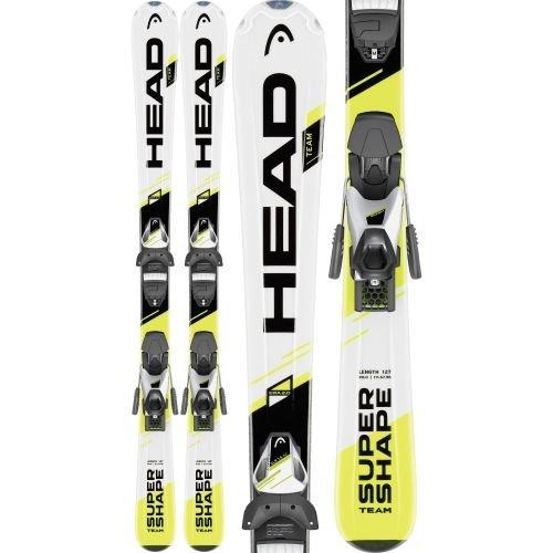 head-sci-supershape-team-da-sci-per-slr-ragazzi-set-color-nero