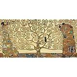 El árbol de la vida de Klimt, Gustav–Fine Art impresión disponible en lienzo y papel, lona, SMALL (42.5 x 21 Inches )