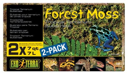 Exo TerraSustratoNaturalForestMoss- Paquete de 2 Unidades x 7 L - Total: 14 L