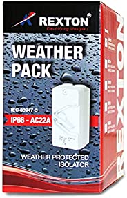 REXTON WEATHER PACK IS100 ISOLATOR 20A 3 POLE IP66