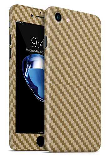 GNG Carbone Nero Cover iPhone Cover per iPhone 6+ Carbone Oro