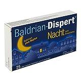 Baldrian Dispert Nacht zum Einschlafen üb.tabl. 25 stk