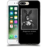 Official Ariana Grande Bunny Mask Dangerous Woman Soft Gel Case for Apple iPhone 7 Plus