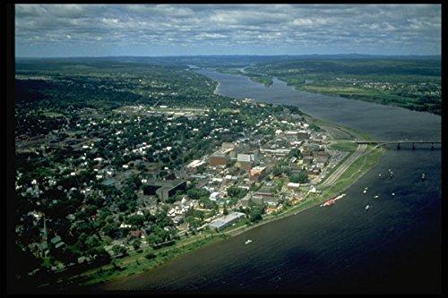371023 Fredericton New Brunswick A4 Photo Poster Print 10x8
