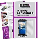 dipos I 6X Schutzfolie klar passend für Doogee S60 Folie Bildschirmschutzfolie