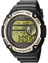38ec838c79fe Amazon.es  Amarillo - Relojes de pulsera   Hombre  Relojes