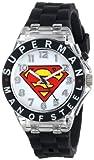 Best DC Comics DC Comics Superman Kids Watches - Superman Kids' SUP9048 Analog Display Analog Quartz Black Review