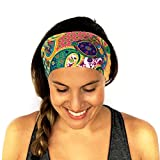 #5: Romano Multi functional Stylish Unisex Bandana Headband (Multicolour)