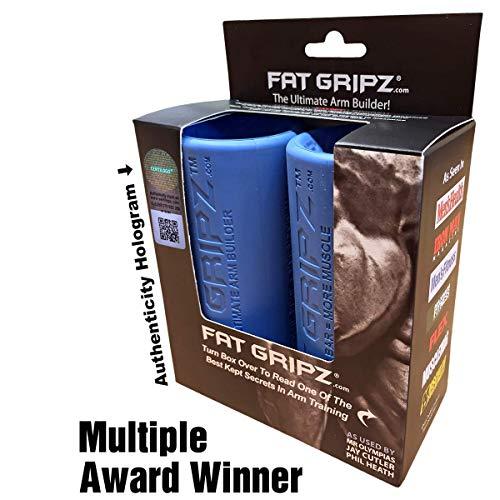 Fat Gripz - Mangos para barras de musculación (5,7 cm de diámetro),